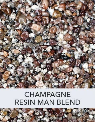 Champagne Resin Man Resin Drive Blend