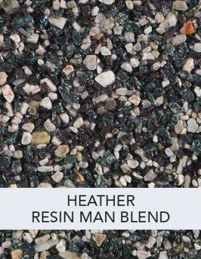 Heather Resin Man Resin Drive Blend