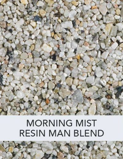 Morning Mist Resin Man Resin Drive Blend