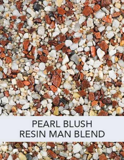 Pearl Blush Resin Man Resin Drive Blend