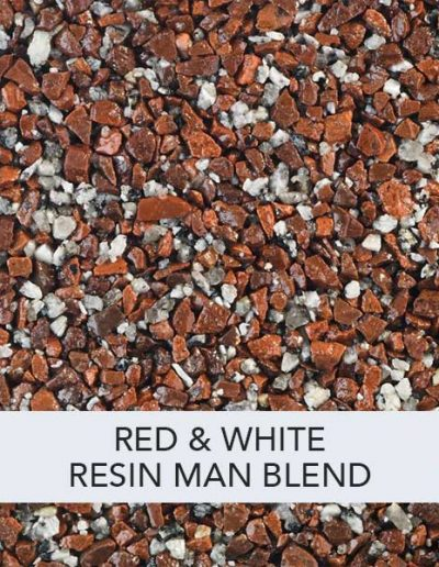 Red & White Resin Man Resin Drive Blend