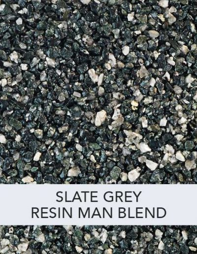 Slate Grey Resin Man Resin Drive Blend