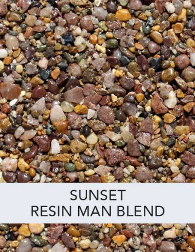 Sunset Resin Man Resin Drive Blend