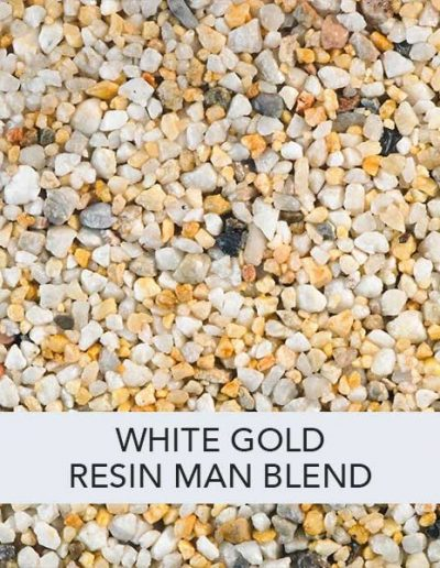 White gold Resin Man Resin Drive Blend