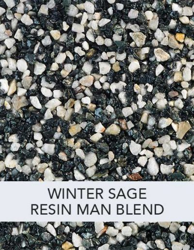 Winter sage Resin Man Resin Drive Blend